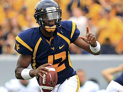 West Virginia quarterback Geno Smith is an early Heisman favorite. (Christopher Jackson/AP file photo)