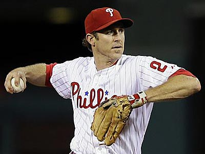 The Phillies are not going to move Chase Utley to third base. (Matt Slocum/AP)