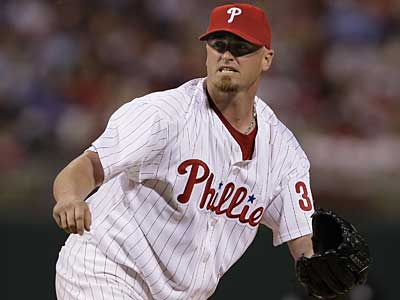 Brett Myers will get the start for the Phillies in Game 2 Thursday against the Brewers. (Ron Cortes / Inquirer)