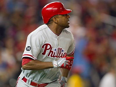 Ben Francisco has agreed to a one-year, $1.175 million deal with the Phillies. (Evan Vucci/AP)