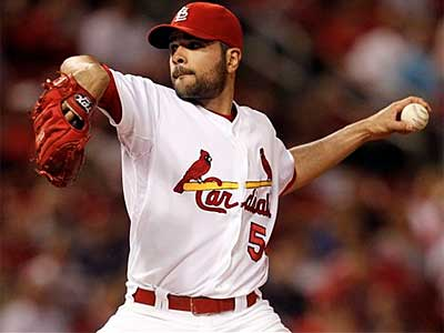 Cardinals starter Jaime Garcia was 13-7 with a 3.56 ERA in 2011. (Jeff Roberson/AP)