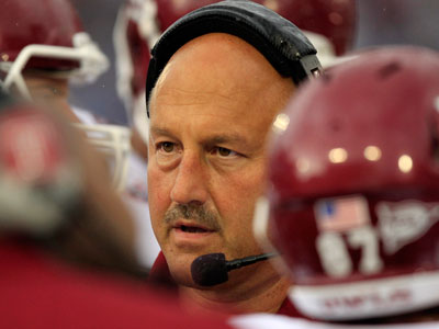 Steve Addazio and Temple are preparing for South Florida. (AP Photo/Gene J. Puskar)