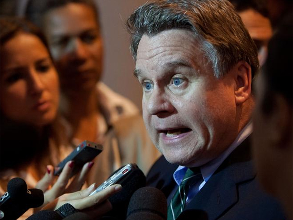 """U.S. Rep. Chris Smith, a South Jersey Republican, blasted President Obama and his health care law, saying, """"The president has not acted like an adult."""""""