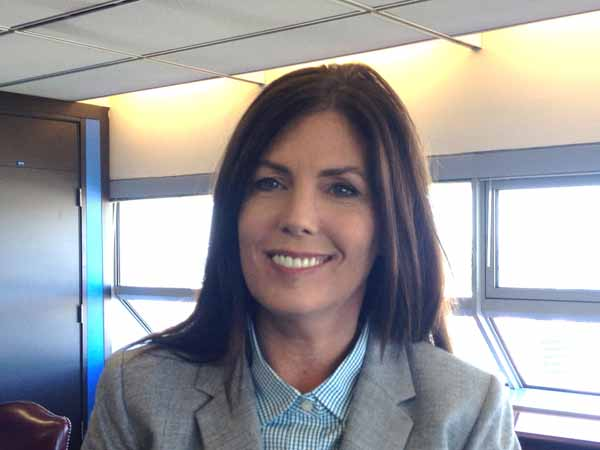 PA Attorney General Kathleen Kane in her Harrisburg office.