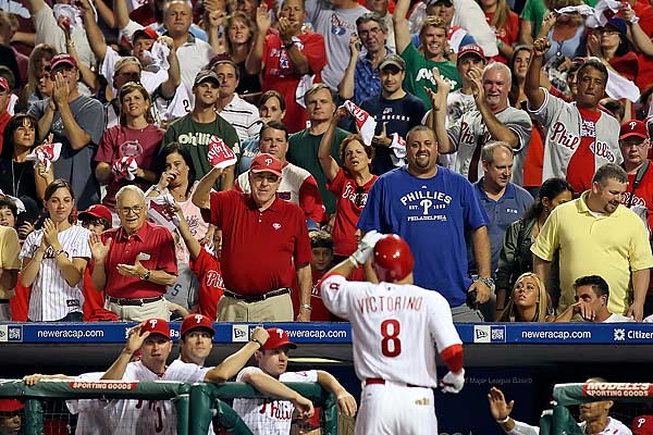 Phillies fans are getting ready for what they hope will be another deep run in the playoffs. (Steven M. Falk/Staff file photo)