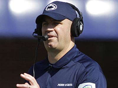 Penn State football coach Bill O´Brien. (Seth Perlman/AP)