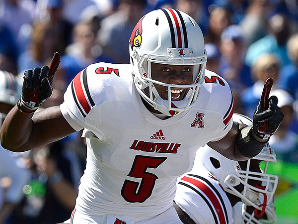 Louisville quarterback Teddy Bridgewater. (Timothy D. Easley/AP file photo)