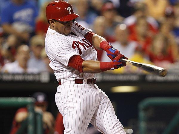 Phillies catcher Carlos Ruiz. (David Maialetti/Staff Photographer)