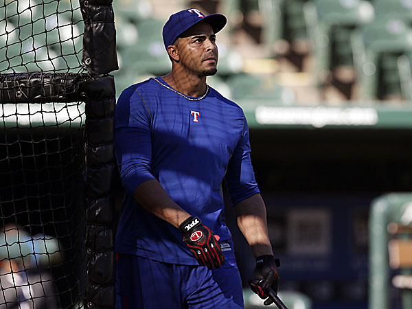 The Rangers´ Nelson Cruz. (Tony Gutierrez/AP)