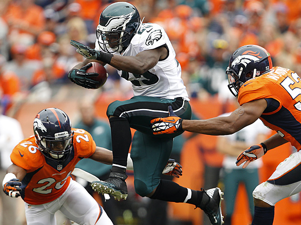 Eagles running back LeSean McCoy. (David Maialetti/Staff Photographer)