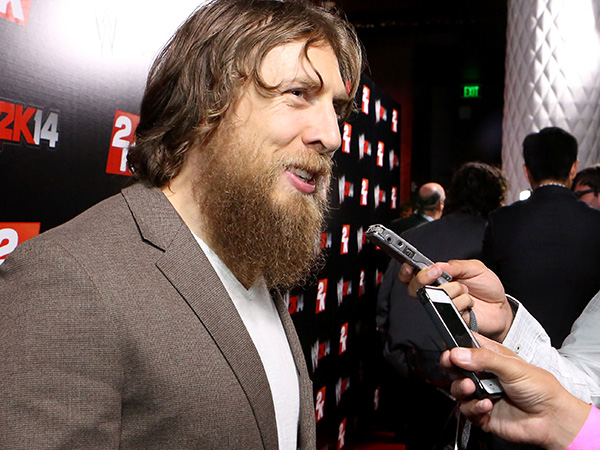 WWE Superstar Daniel Bryan. (Photo by Casey Rodgers/Invision for 2K/AP Images)