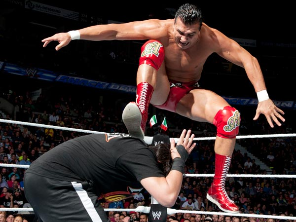 WWE Superstar Alberto Del Rio. (Photo courtesy of WWE)