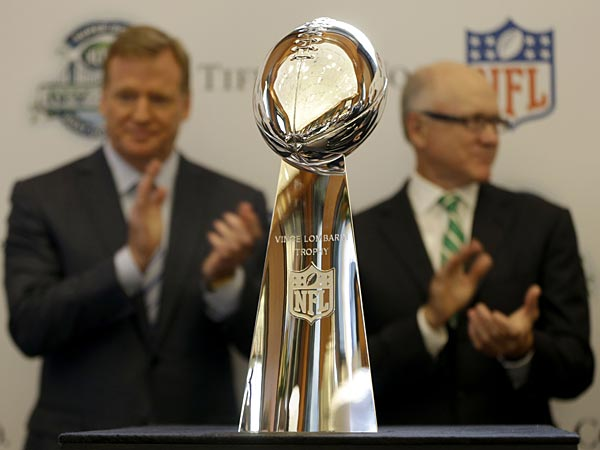 The NFL technically labels itself as a ´nonprofit.´ (AP Photo/Seth Wenig)