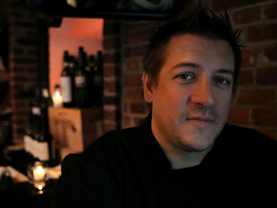Townsend Wentz, chef at McCrossen´s in Fairmount, in 2011. (David M Warren / Staff Photographer)