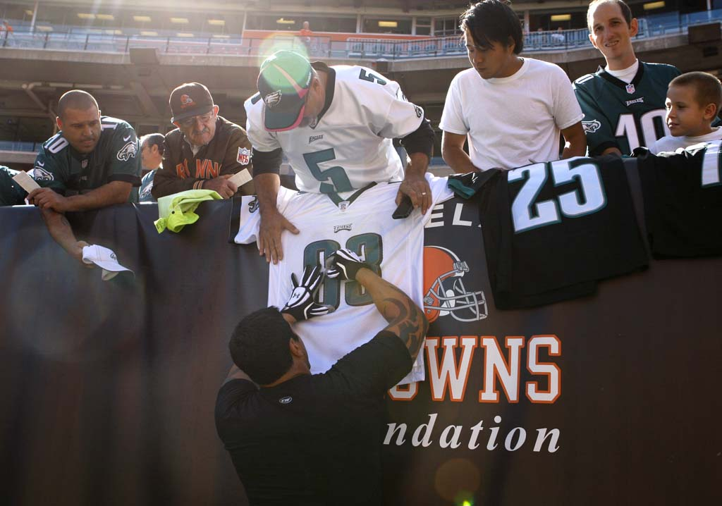 Eagles at Browns: The Eagles start their season with a matchup …