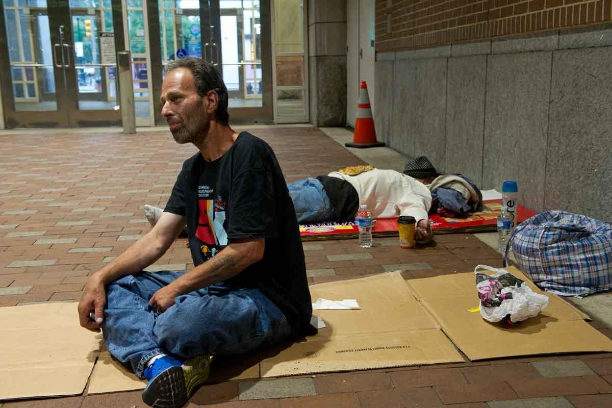 forced Hot homeless girl