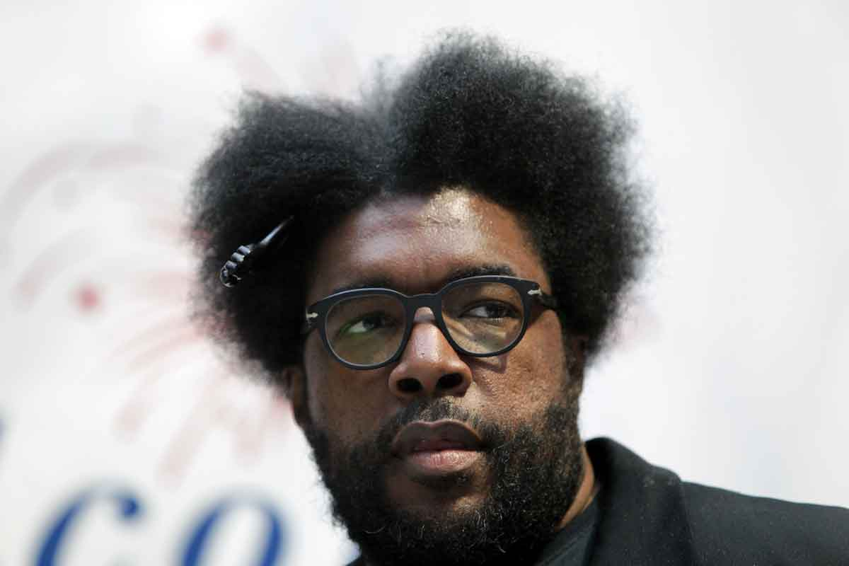 The Roots co-founder and percussionist Questlove.