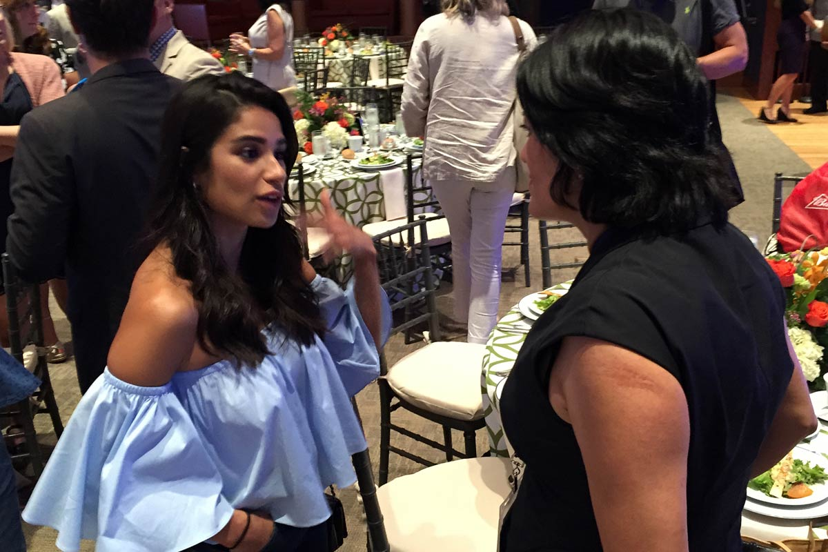 Actress Diane Guerrero, of the Netflix series Orange is the New Black, was among half-a-dozen celebs at an anti-obesity luncheon at the Chemical Heritage Foundation in Old City on Wednesday, July 27, 2016.
