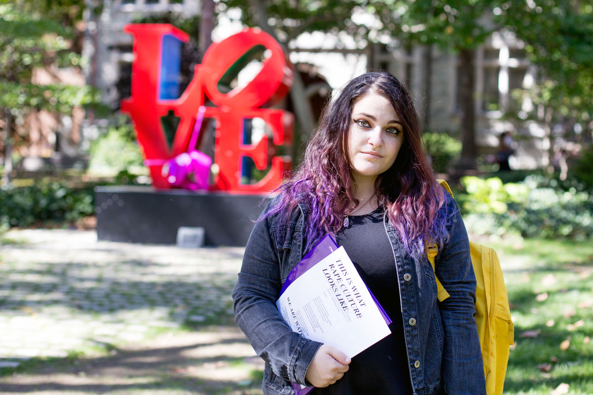 """It´s kind of frustrating for us,"" said Amanda Silberling, 20, an English major from Boca Raton, Fla., who led the protest against the email from an underground frat."