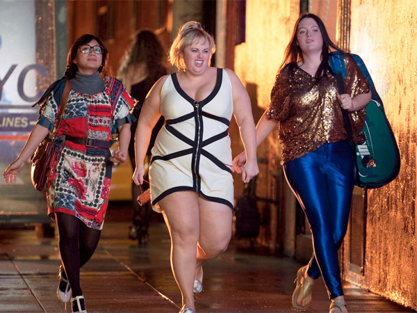 """Super Fun Night"" stars Rebel Wilson (center) as Kimmie Boubier, Liza Lapira (left) as Helen-Alice, and Lauren Ash as Marika. COLLEEN HAYES / ABC"