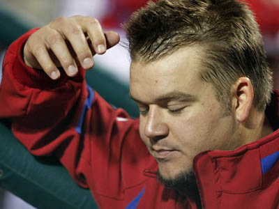 Joe Blanton is slotted as the Phillies´ third starter for the 2010 season. (Ron Cortes/Staff file photo)