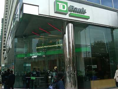 TD Bank. (Photo: Bob McGovern / Philly.com)