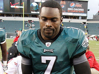 How much blame does Michael Vick deserve for Sunday´s loss? (Charles Fox/Staff Photographer)
