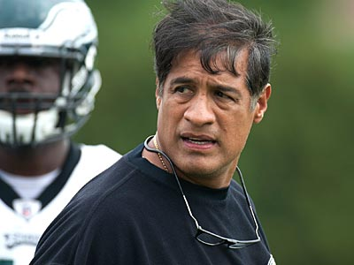 Juan Castillo said his players are working hard to correct their problems on defense. (Clem Murray/Staff file photo)