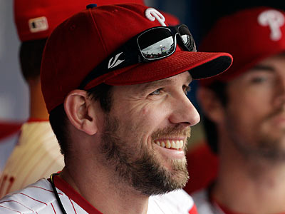 Cliff Lee has 21,500,000 million reasons to smile. His $21.5M salary is the highest among Phillies players. (David Maialetti/Staff File Photo)