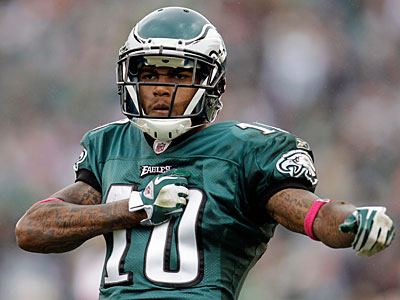 DeSean Jackson responded today to criticism from Jaguars kicker Josh Scobee. (Julio Cortez/AP)