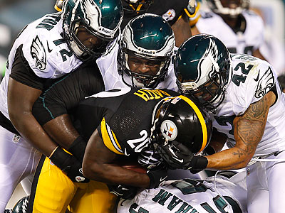 The Eagles and Steelers last met in a preseason game in early August. (David Maialetti/Staff file photo)