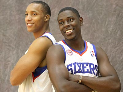 Both Jrue Holiday and Evan Turner say they relish stepping into the leadership role. (Charles Fox/Staff Photographer)