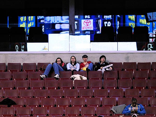 The Sixers sales team has their work cut out for them. (Michael Perez/AP file photo)