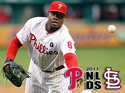 Ryan Howard and the Phillies have surrendered home-field advantage. (Ron Cortes/Staff Photographer)