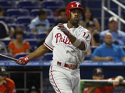Where should Jimmy Rollins bat in the lineup in 2013? (J Pat Carter/AP file photo)