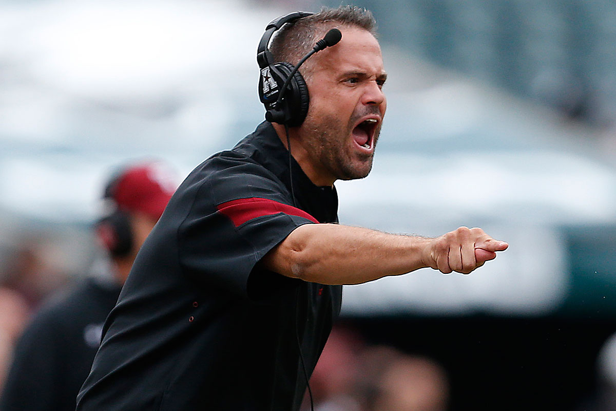 Matt Rhule is reportedly leaving Temple for Baylor.