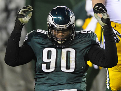 Eagles defensive tackle Antonio Dixon. (Michael Perez/AP file photo)