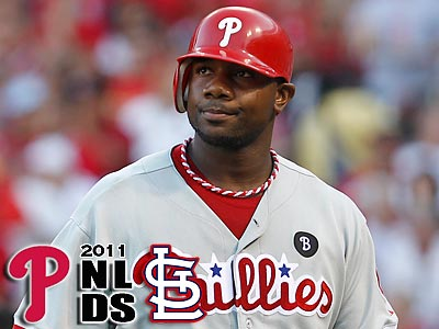 Ryan Howard struck out three times in a playoff game for the tenth time in his career. (Ron Cortes/Staff Photographer)