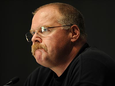 Andy Reid and the Eagles take on the Bills in Week 5. (Sarah J. Glover/Staff Photographer)
