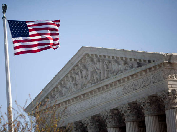 The U.S. Supreme Court will soon hear arguments in a case involving minority residents in Mt. Holly who say  a housing redevelopment plan has the effect of discriminating against them because they are being forced to leave.  (Andrew Harrer / Bloomberg)