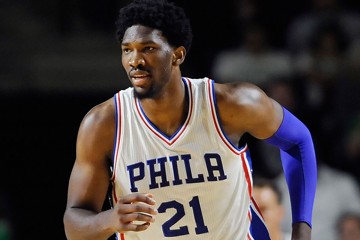 Sielski Embiids First Step Is A Big One Philly