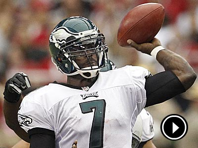 Michael Vick will be under constant pressure from the Steelers´ aggresive defense. (Ron Cortes/Staff file photo)
