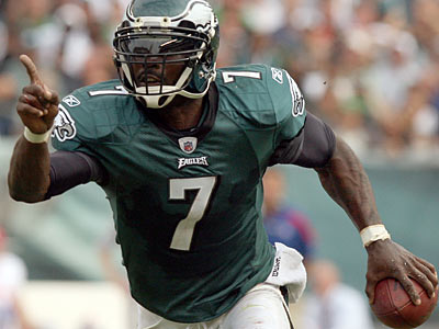 """I think we put up the effort for all four quarters,"" Michael Vick said. (Yong Kim/Staff Photographer)"