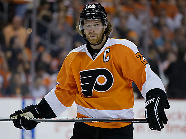 Flyers captain Claude Giroux. (Matt Slocum/AP)