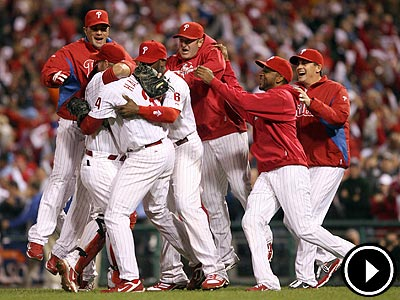 Roy Halladay´s no-hitter came in the first postseason start of his career. (Yong Kim/Staff Photographer)