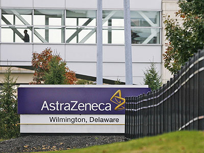 AstraZeneca's facility in Fairfax, near Wilmington.<br />Generic drugs have been cutting into the revenues of big companies. (Tim Shaffer / Bloomberg News)