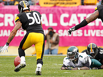 Michael Vick Fumbles