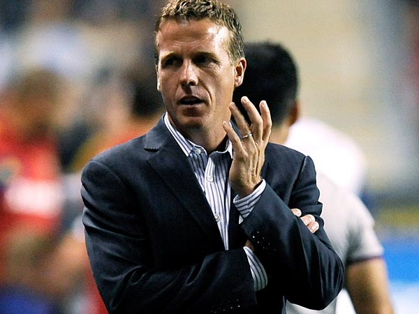 Union manager John Hackworth. (Michael Perez/AP file photo)