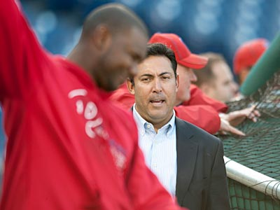 Ruben Amaro Jr. has some difficult decisions ahead of him this offseason. (Clem Murray/Staff Photographer)