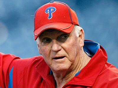 Charlie Manuel and the rest of the Phillies coaching staff will return in 2012. (Yong Kim/Staff Photographer)